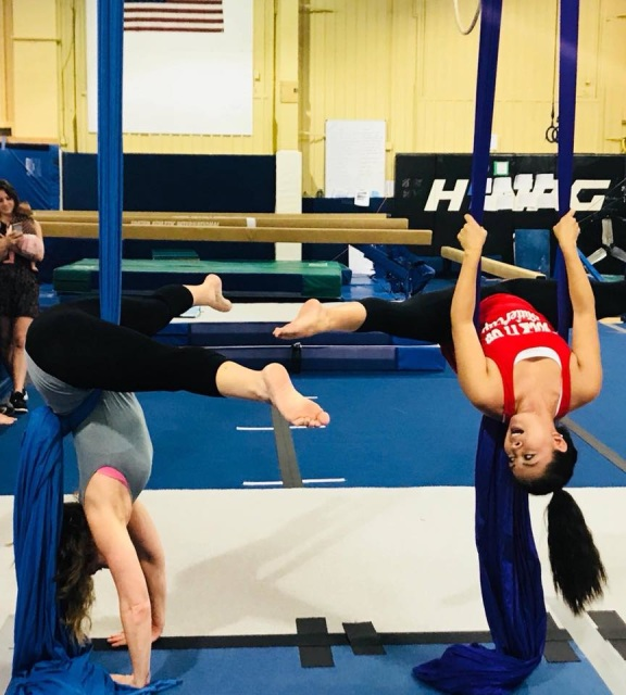 Used Exercise Equipment Chesterfield Mo: Adult Aerial Fitness Class (Drop In Fee
